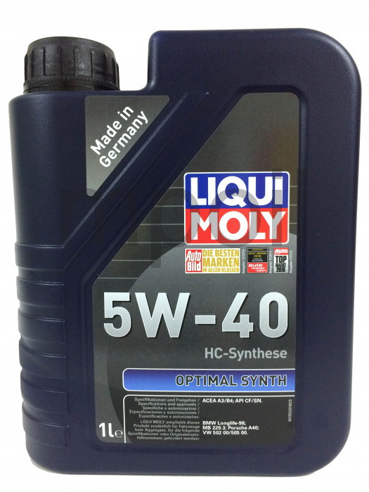 Масло LIQUI MOLY Optimal Synth 5w40 (1л)