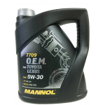 Масло MANNOL 7709 O.E.M. for TOYOTA LEXUS 5W-30 4л