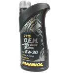 Масло MANNOL 7715 O.E.M. for VW Audi Skoda 5w30 (1л)